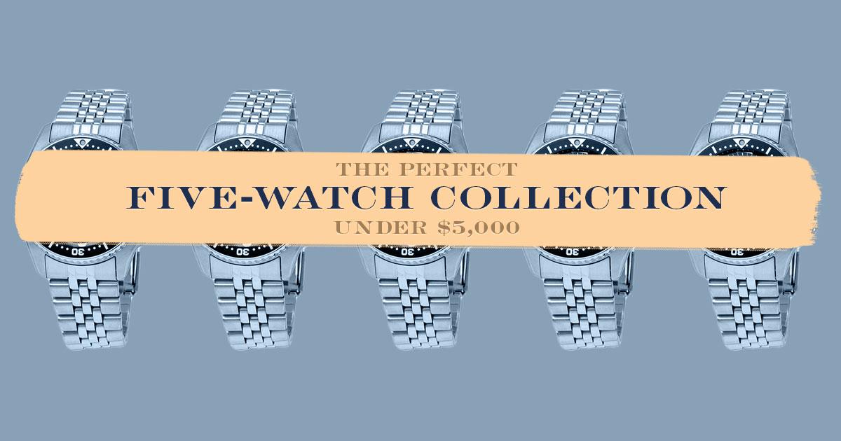 5 watch collection under 5000