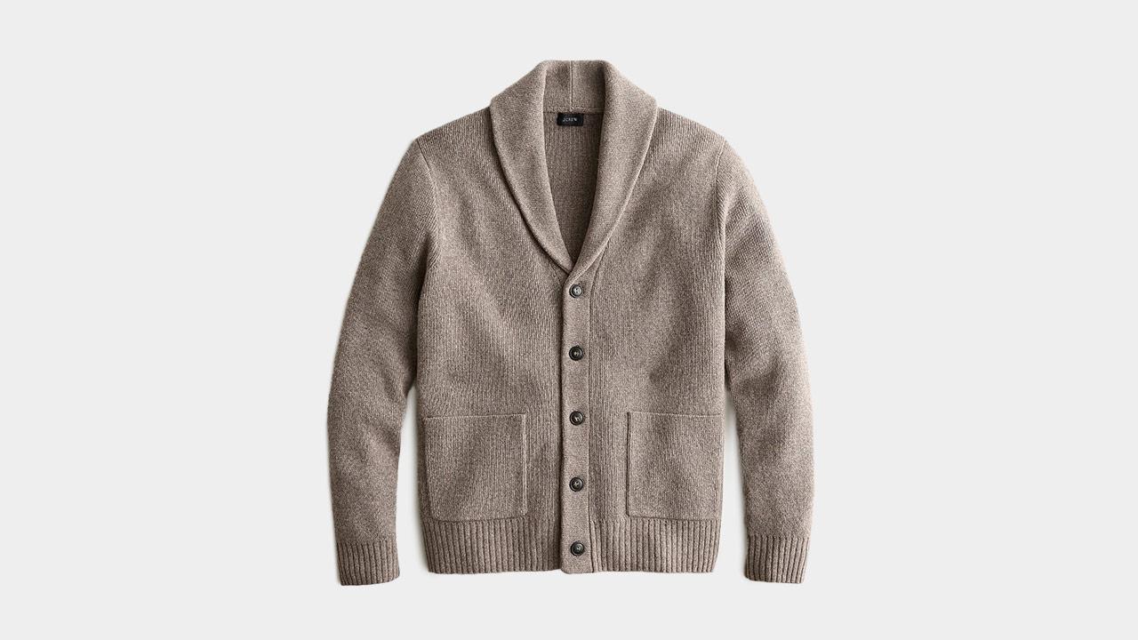 J.Crew Merino Wool Shawl Cardigan