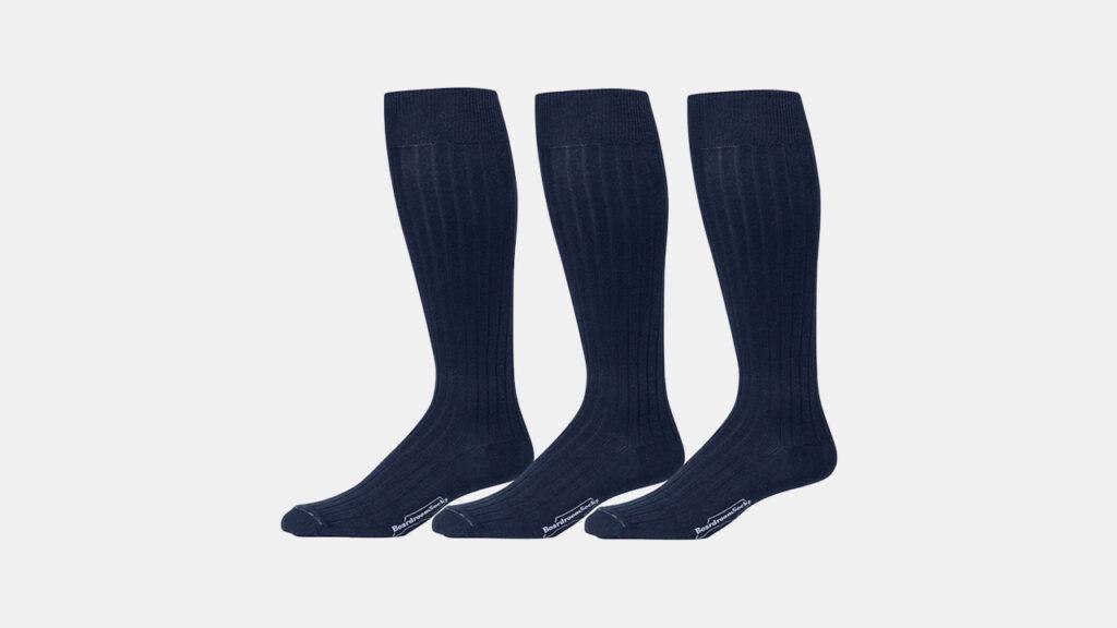 Boardroom Navy Dress Socks