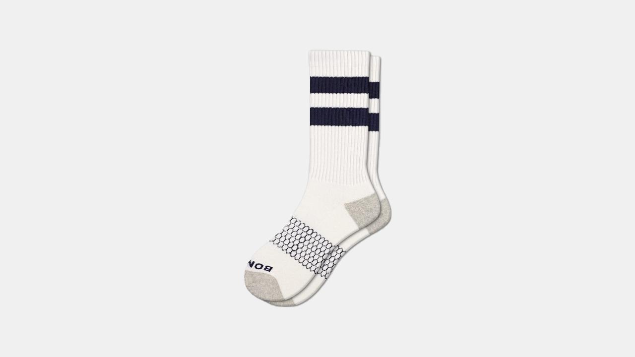 Bombas Vintage Stripe Calf Socks