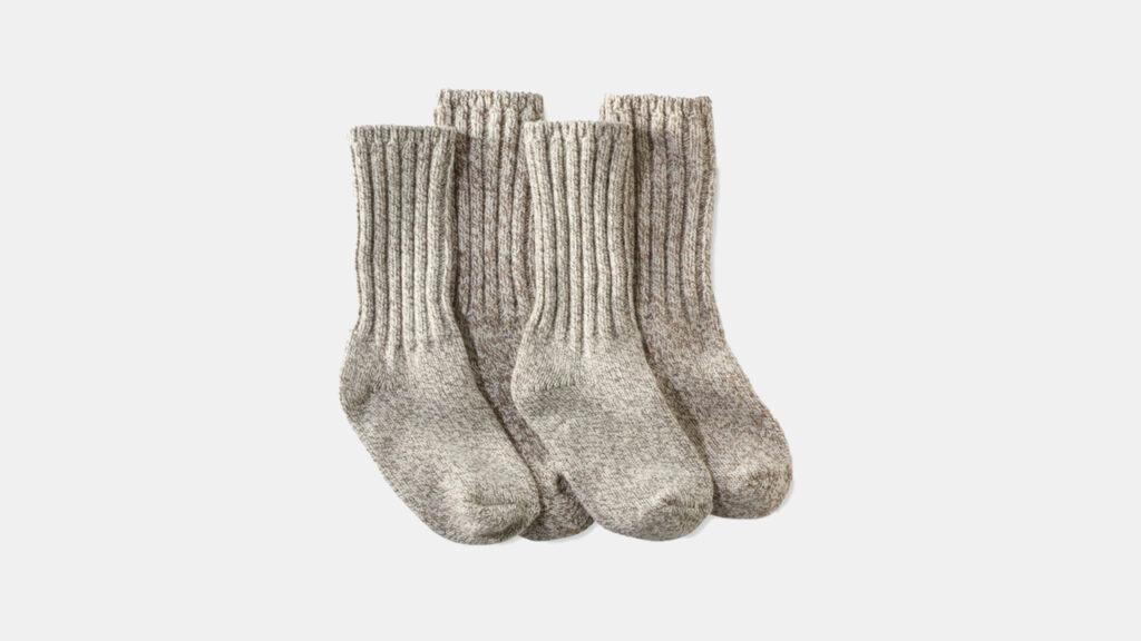 L.L. Bean Merino Ragg Wool Socks