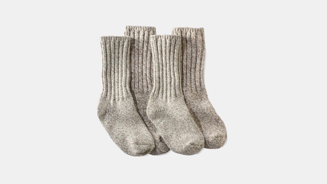L.L.Bean Merino Wool Ragg Socks