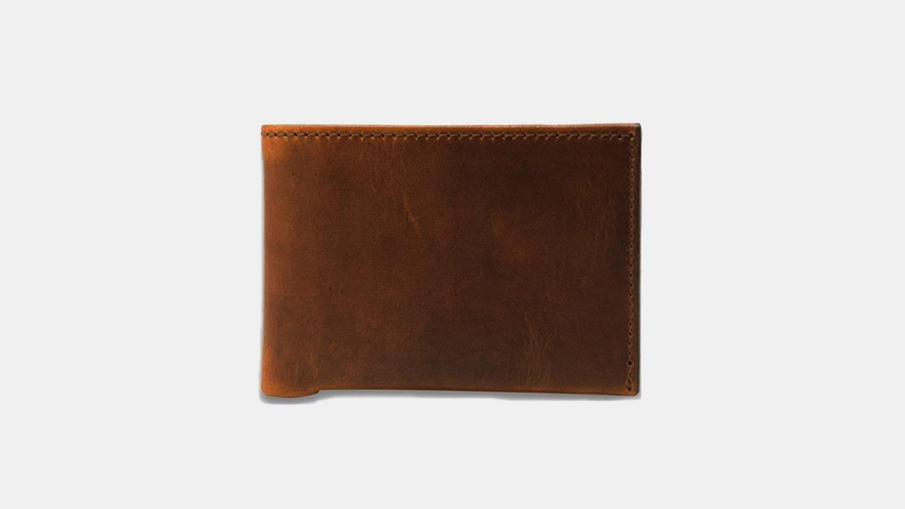 Olpr. Leather Goods Co. Slim Bifold Wallet