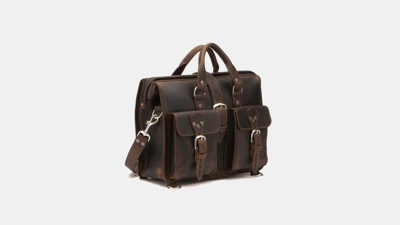 Saddleback Leather Co. Flight Bag