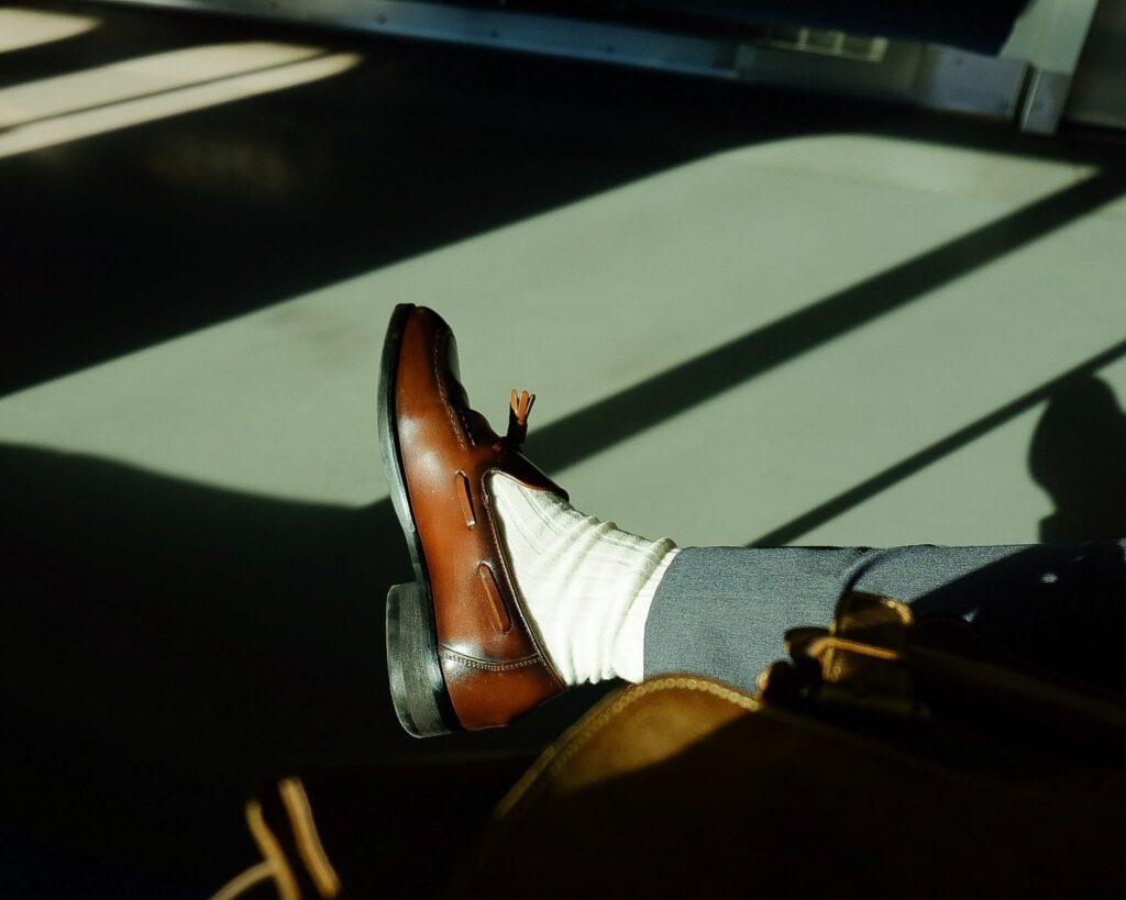 stylish man indoors