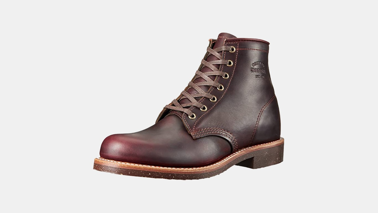 Chippewa Service Boot in Cordovan