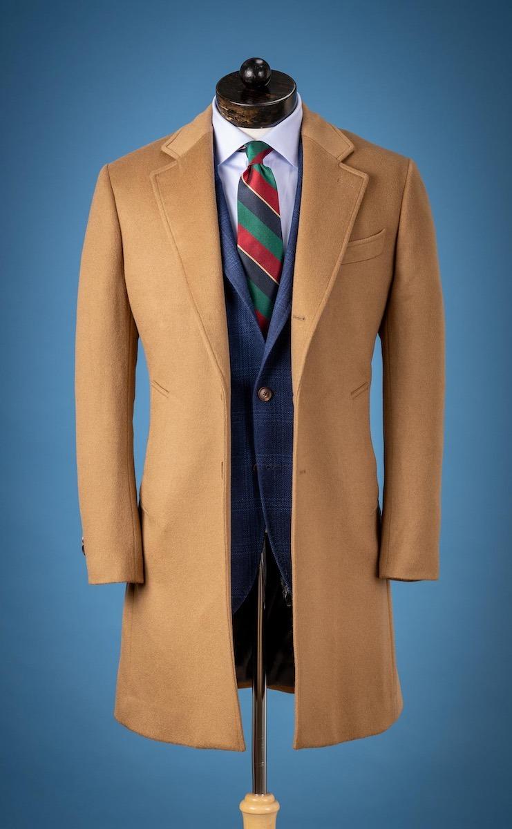Spier & Mackay Camel Wool Cashmere Topcoat