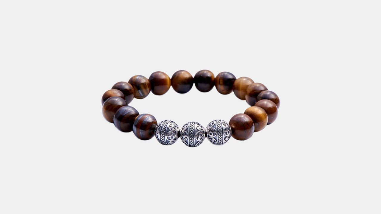 Azuro Republic Tiger Eye Bracelet