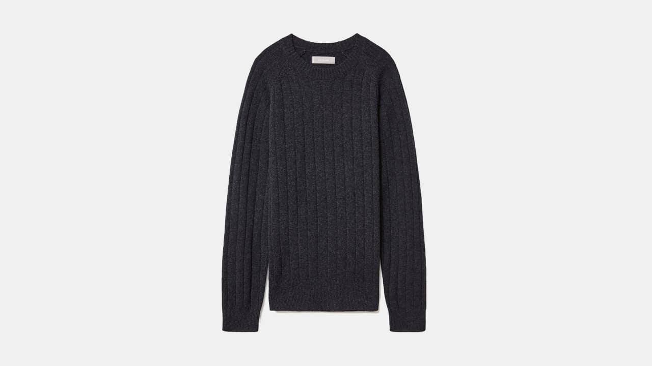 Everlane Felted Merino Wool Sweater