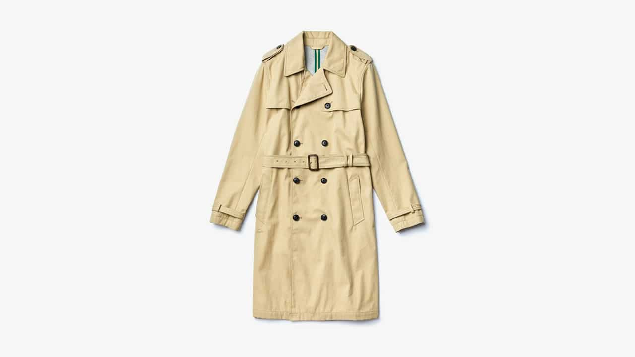 Lacoste Cotton Trench Coat