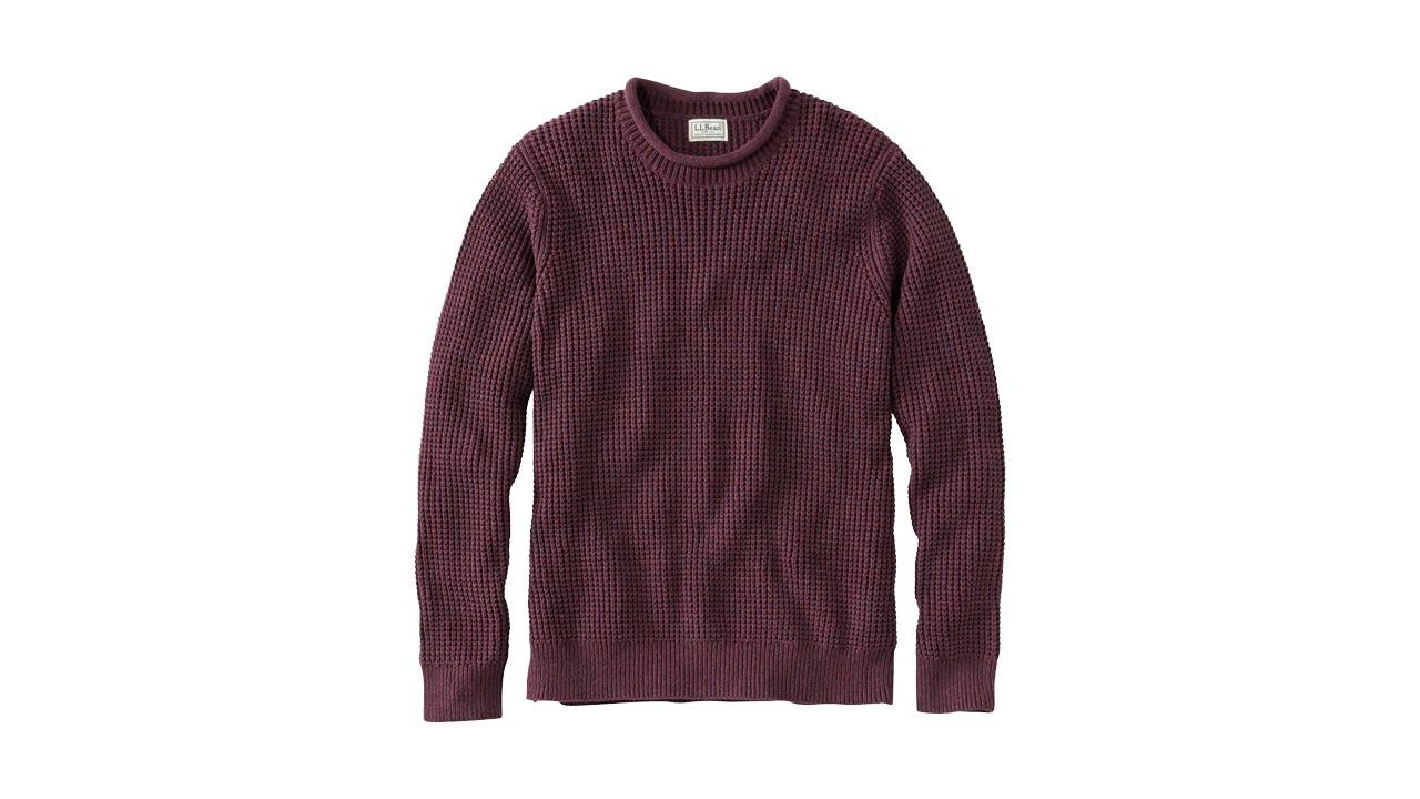 L.L. Bean Organic Cotton Rollneck Sweater