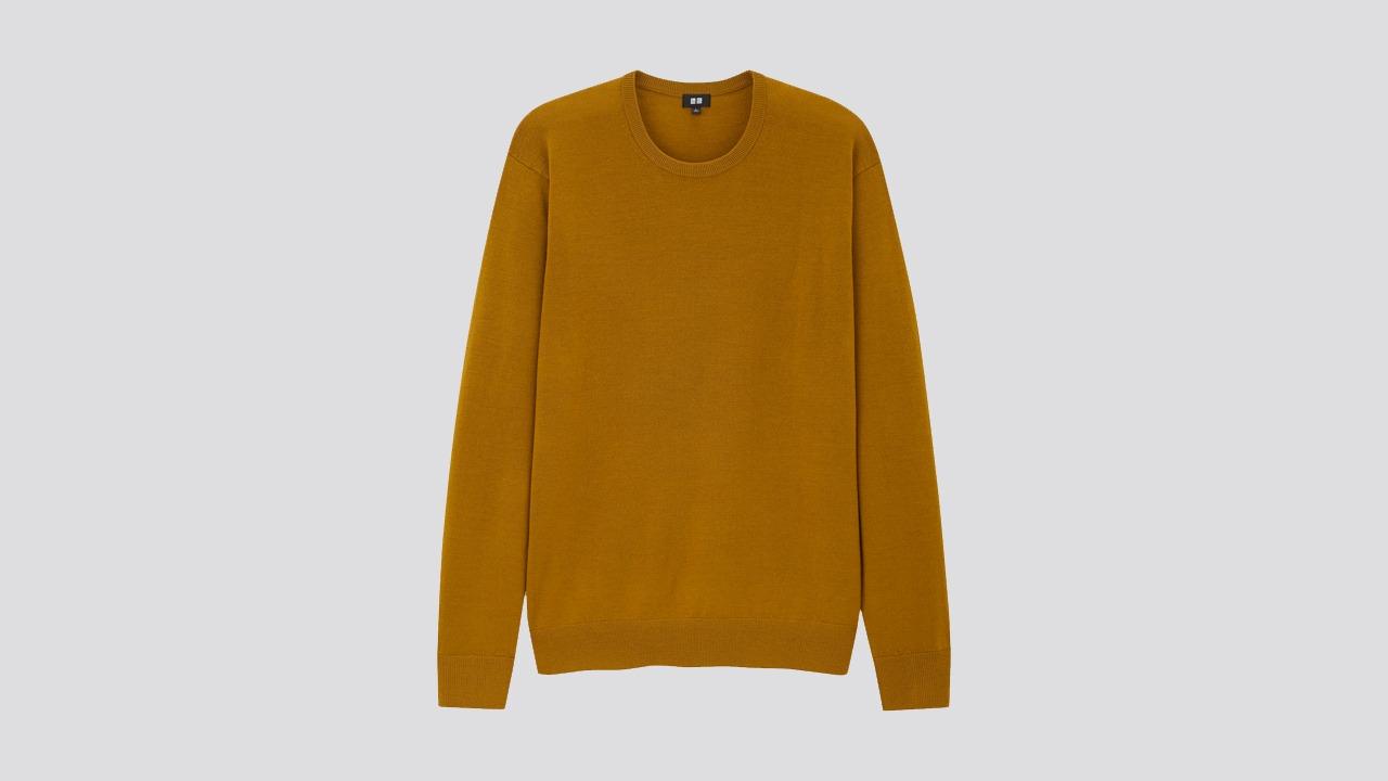 Uniqlo Merino Crew Neck Sweater