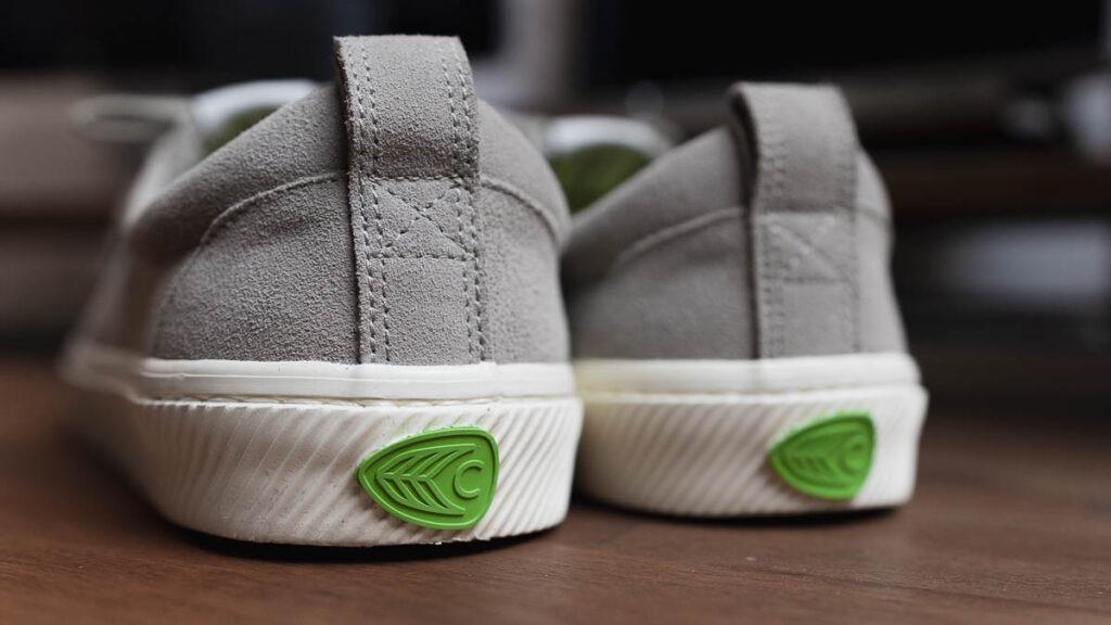 cariuma oca low grey heel