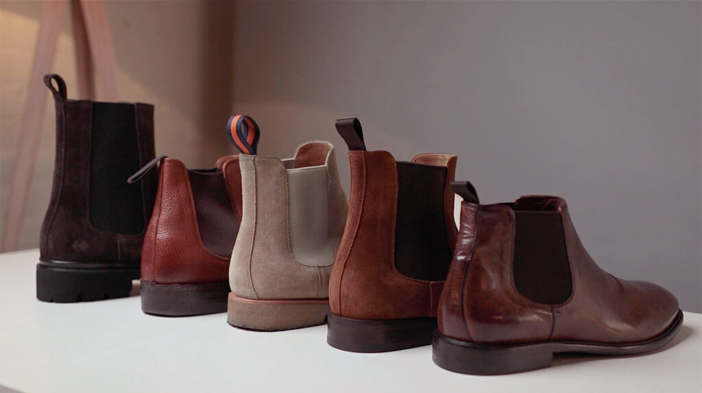 chelsea boots different shaft heights