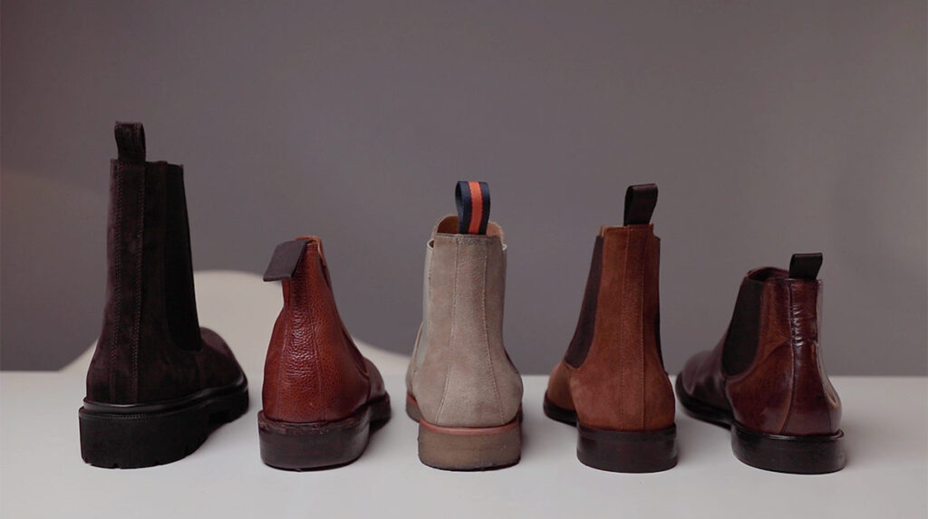 chelsea boots shaft height
