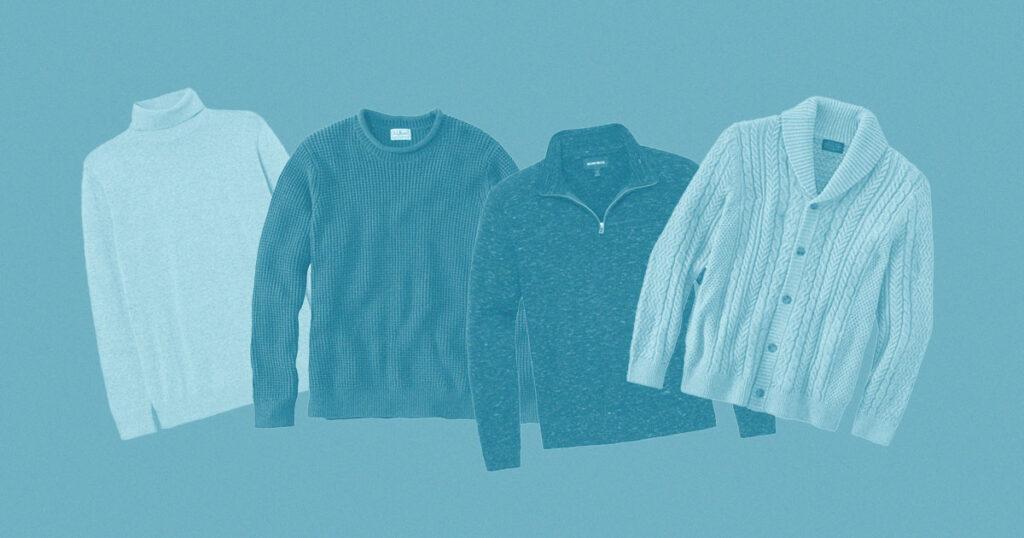 4 sweaters