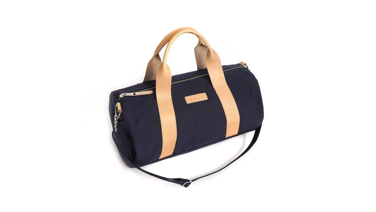 American Trench Canvas & Leather Duffel Bag
