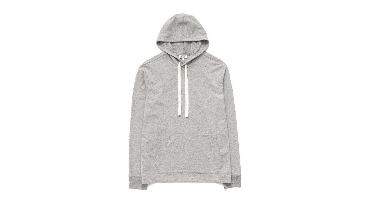 American Trench Flecked Terry Hoodie