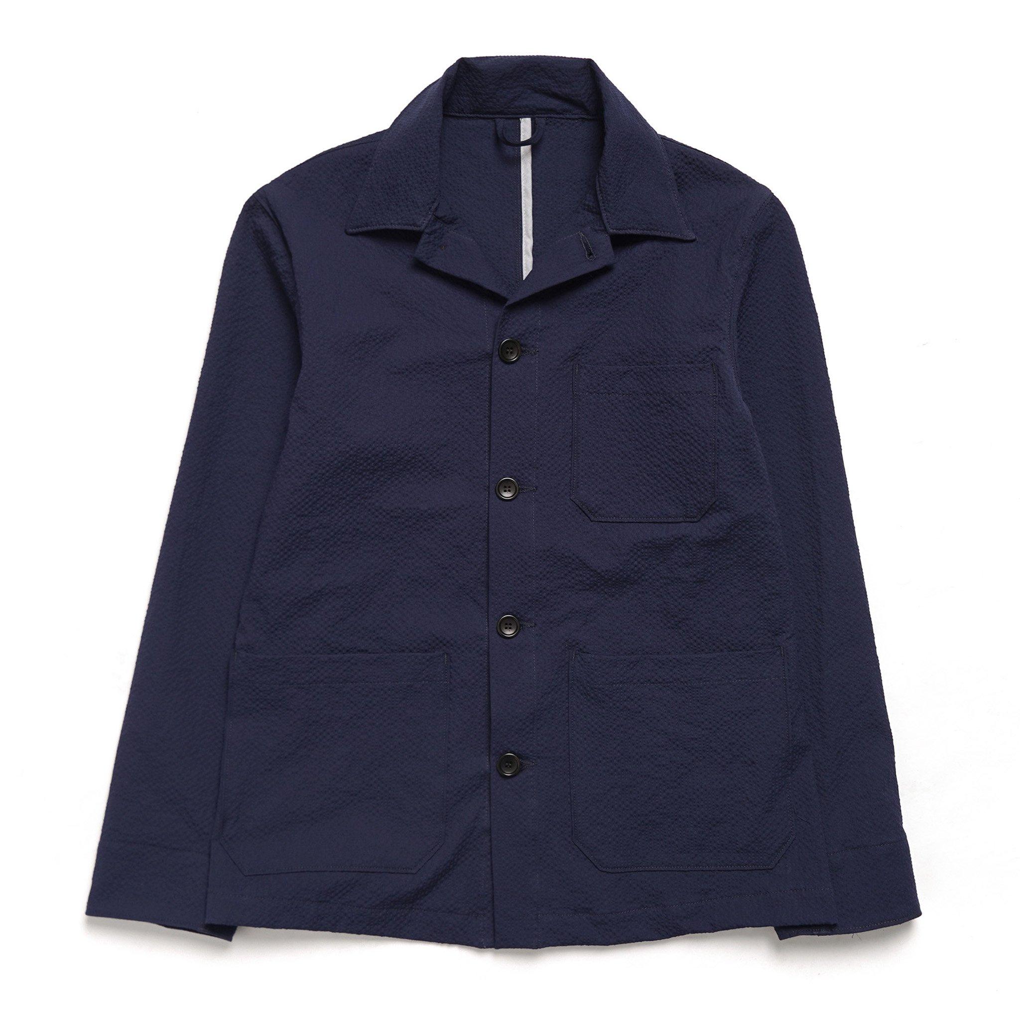 American Trench Italian Seersucker Chore Coat