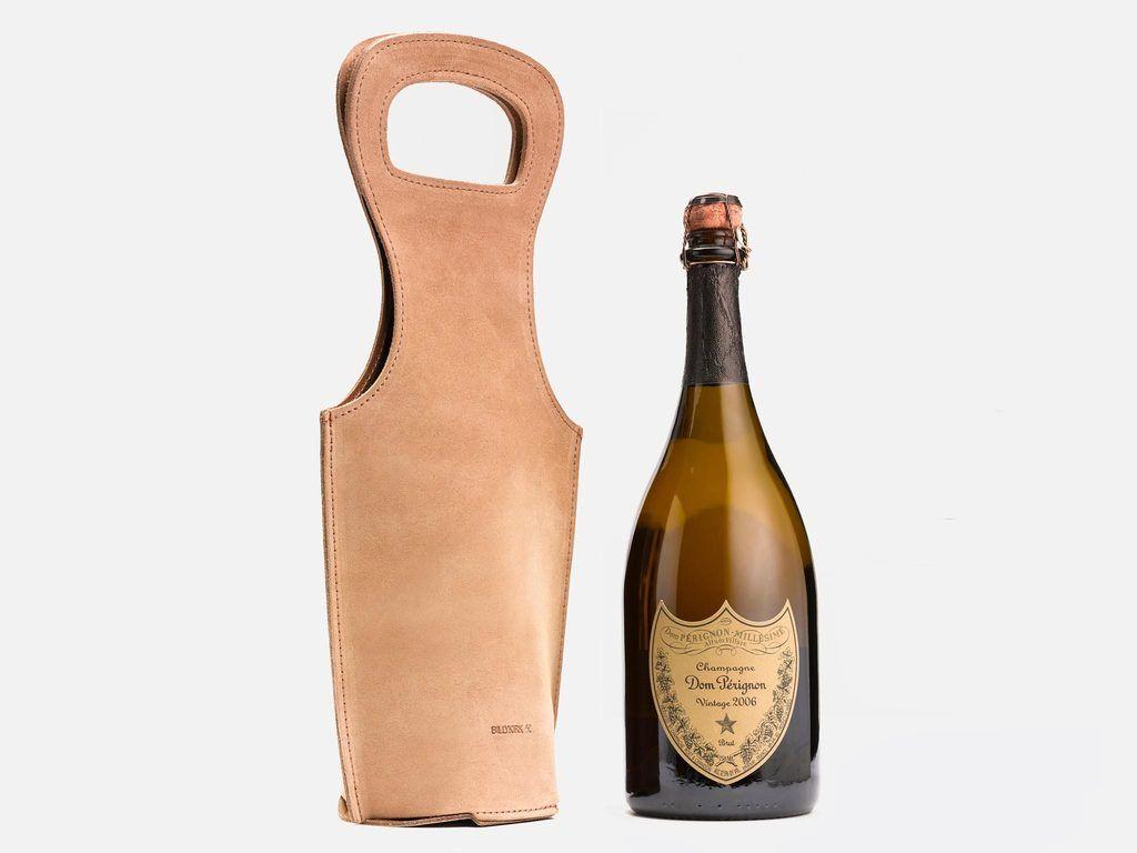 Billykirk No. 520 Leather Wine Tote