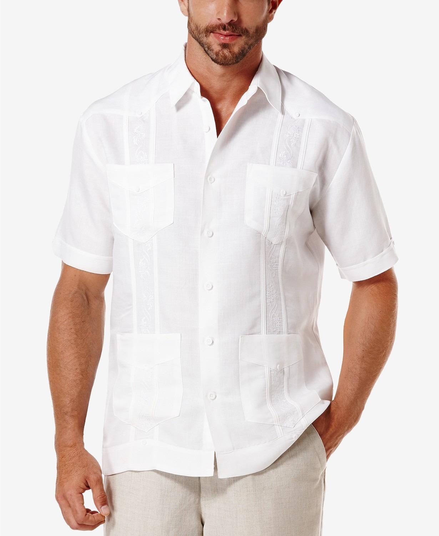 Cubavera Short Sleeve Guayabera Shirt