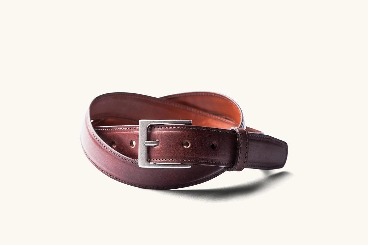 Tanner Goods Dress Belt in Cognac