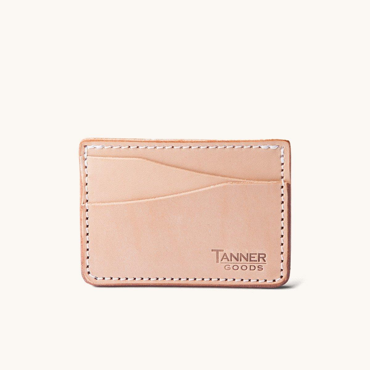 Tanner Goods Journeyman Wallet in Natural
