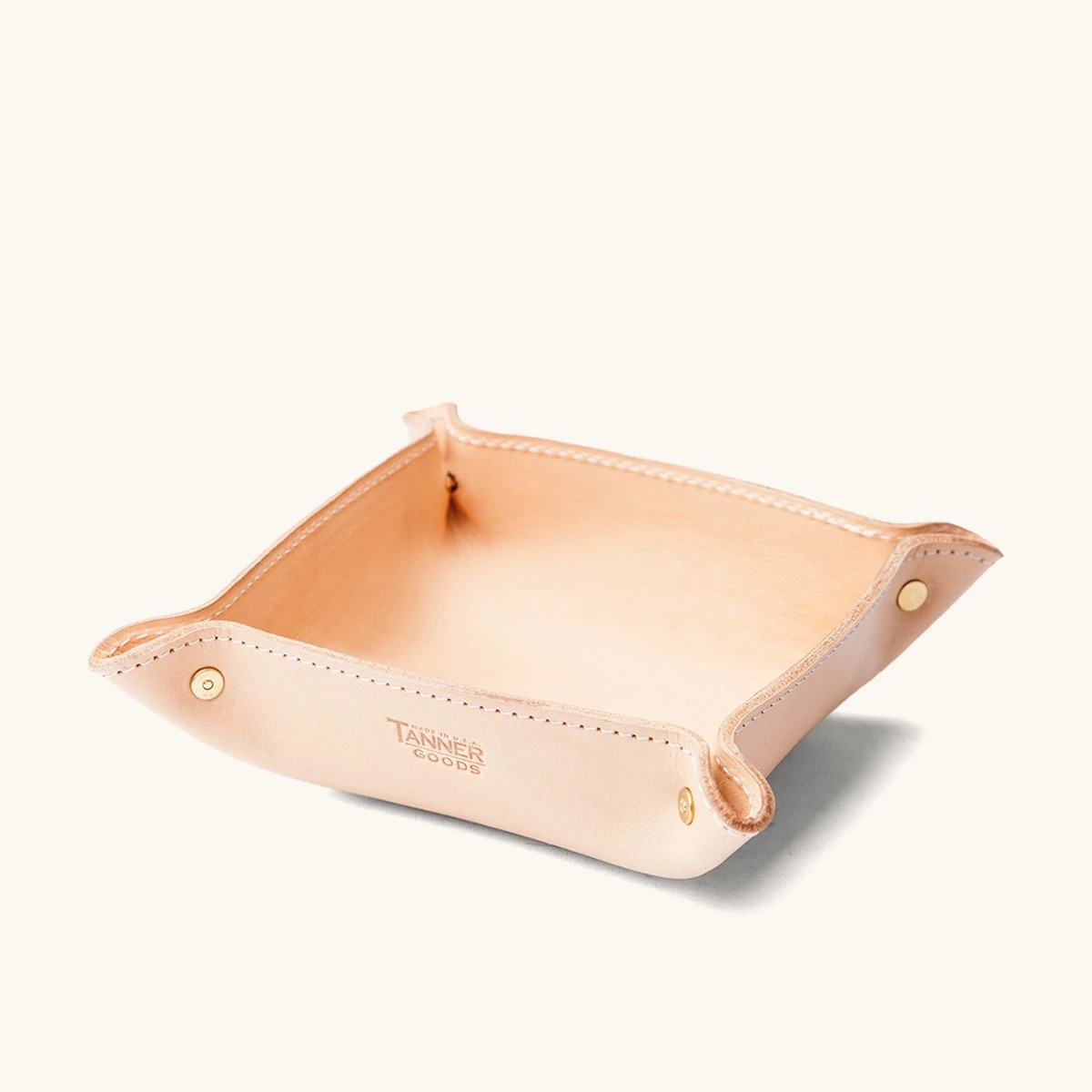 Tanner Goods Valet Tray in Natural