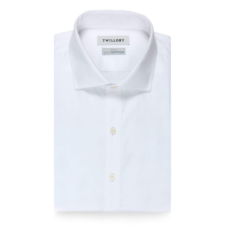 Twillory Non-Iron White Twill Dress Shirt