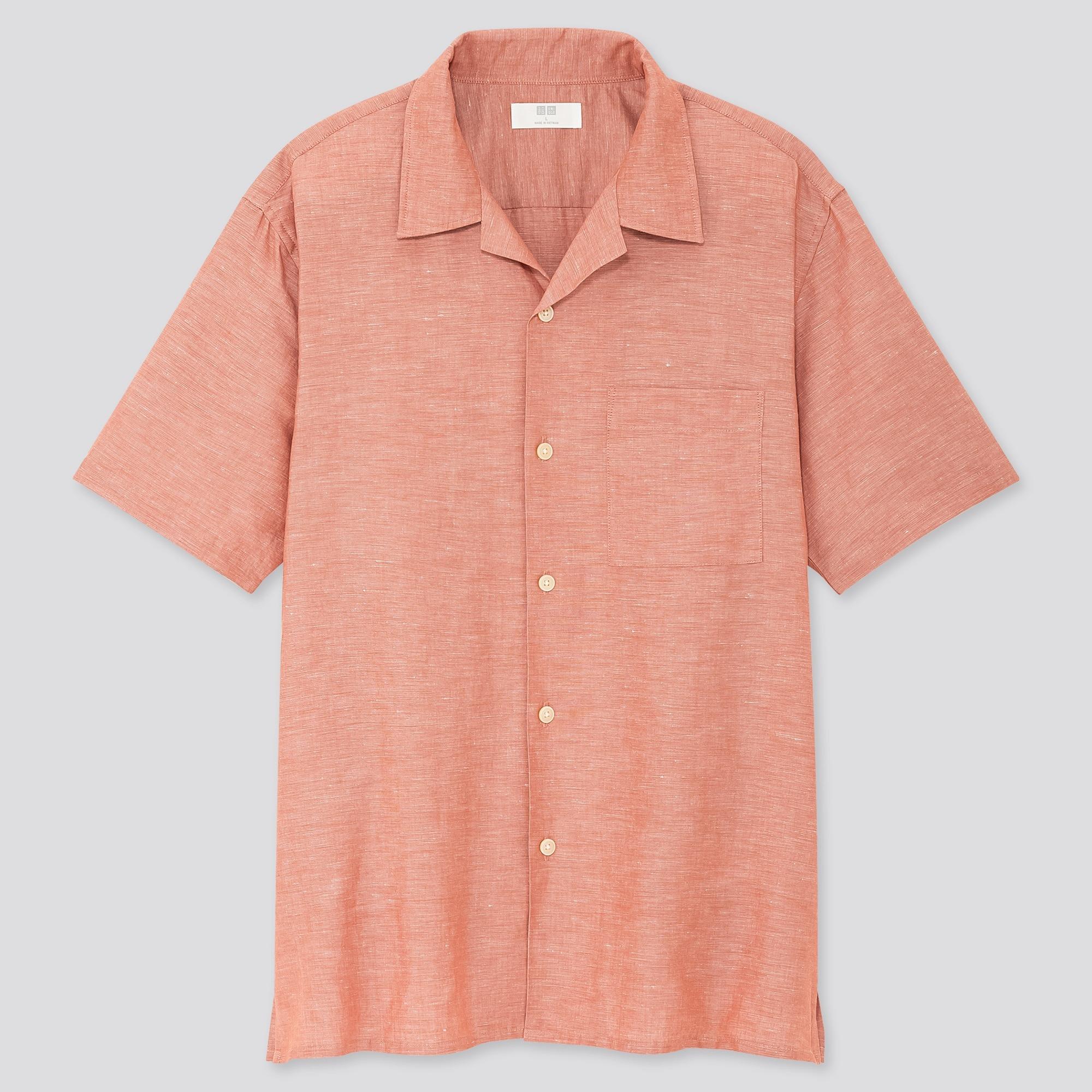 Uniqlo Short Sleeve Button Down Shirt