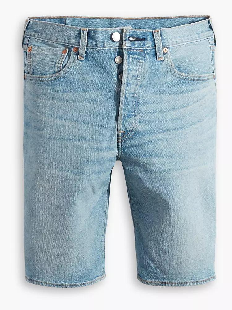 Levi's 501 Light Wash Jean Shorts