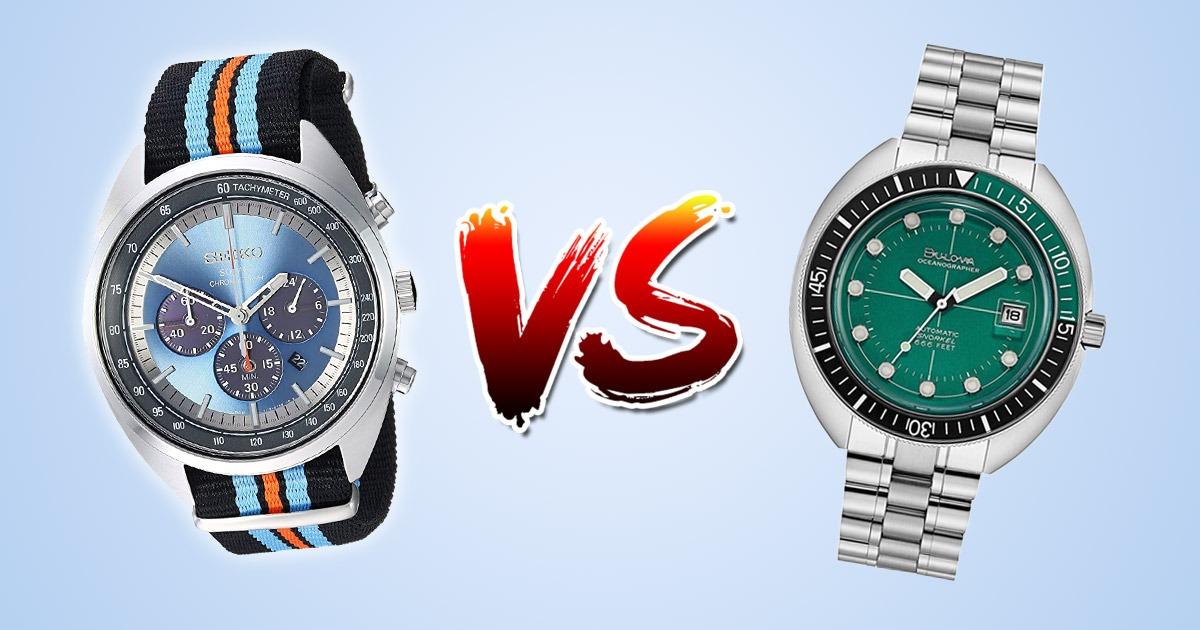 Seiko vs Bulova: Which is better?