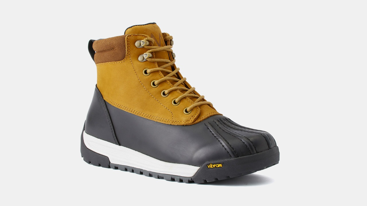 huckberry duck boots brown and black