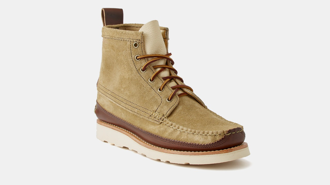 yuketen boots taupe color
