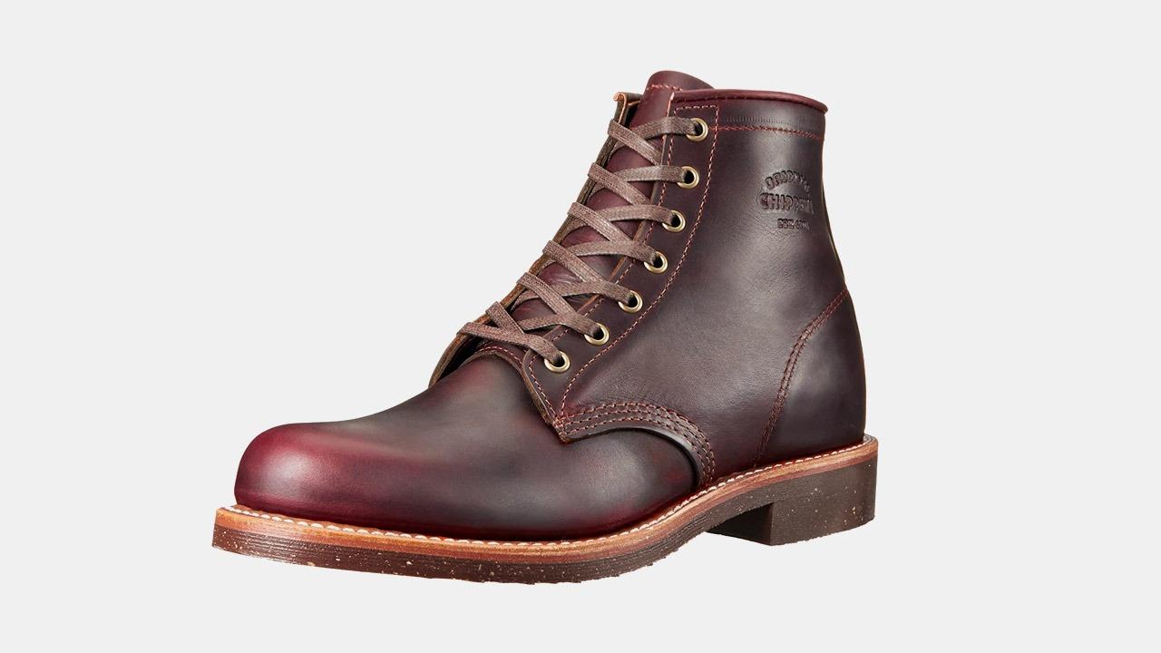 chippewa brown boots