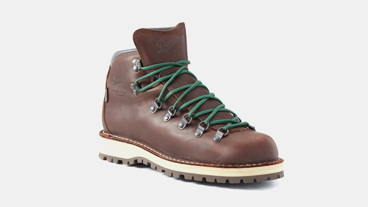 danner mountain boots dark brown