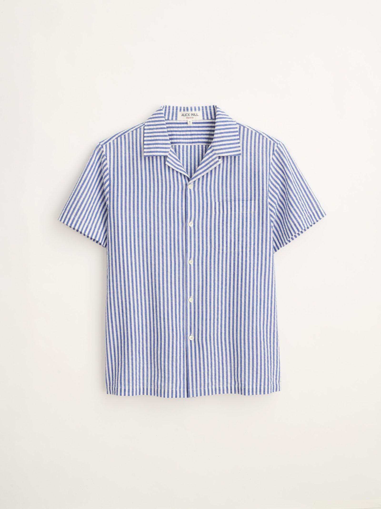 Alex Mill Short Sleeve Striped Popover