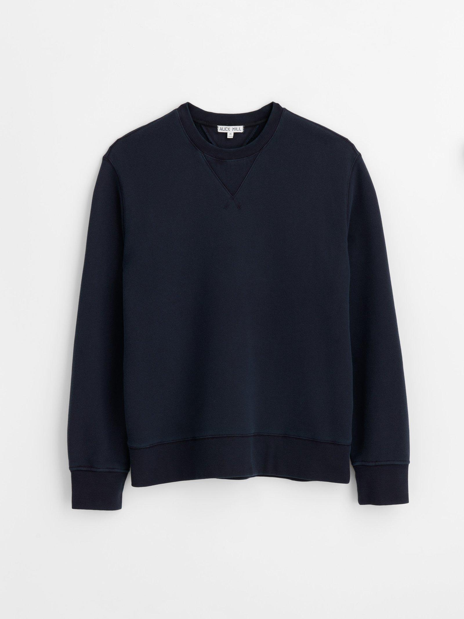 Alex Mill Garment-Dyed Crewneck Sweatshirt