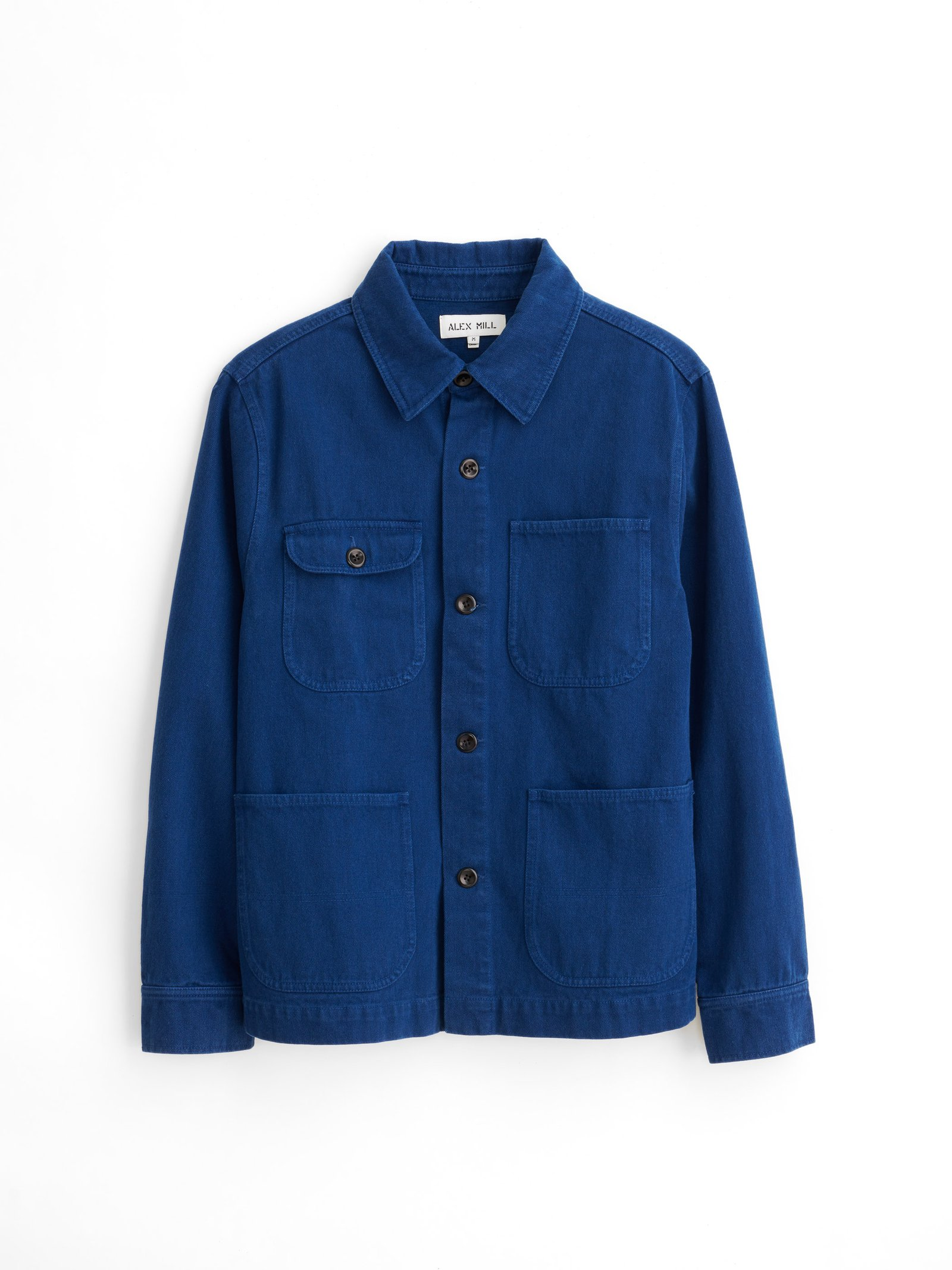 Alex Mill Garment-Dyed Work Jacket in Upcycled Cotton