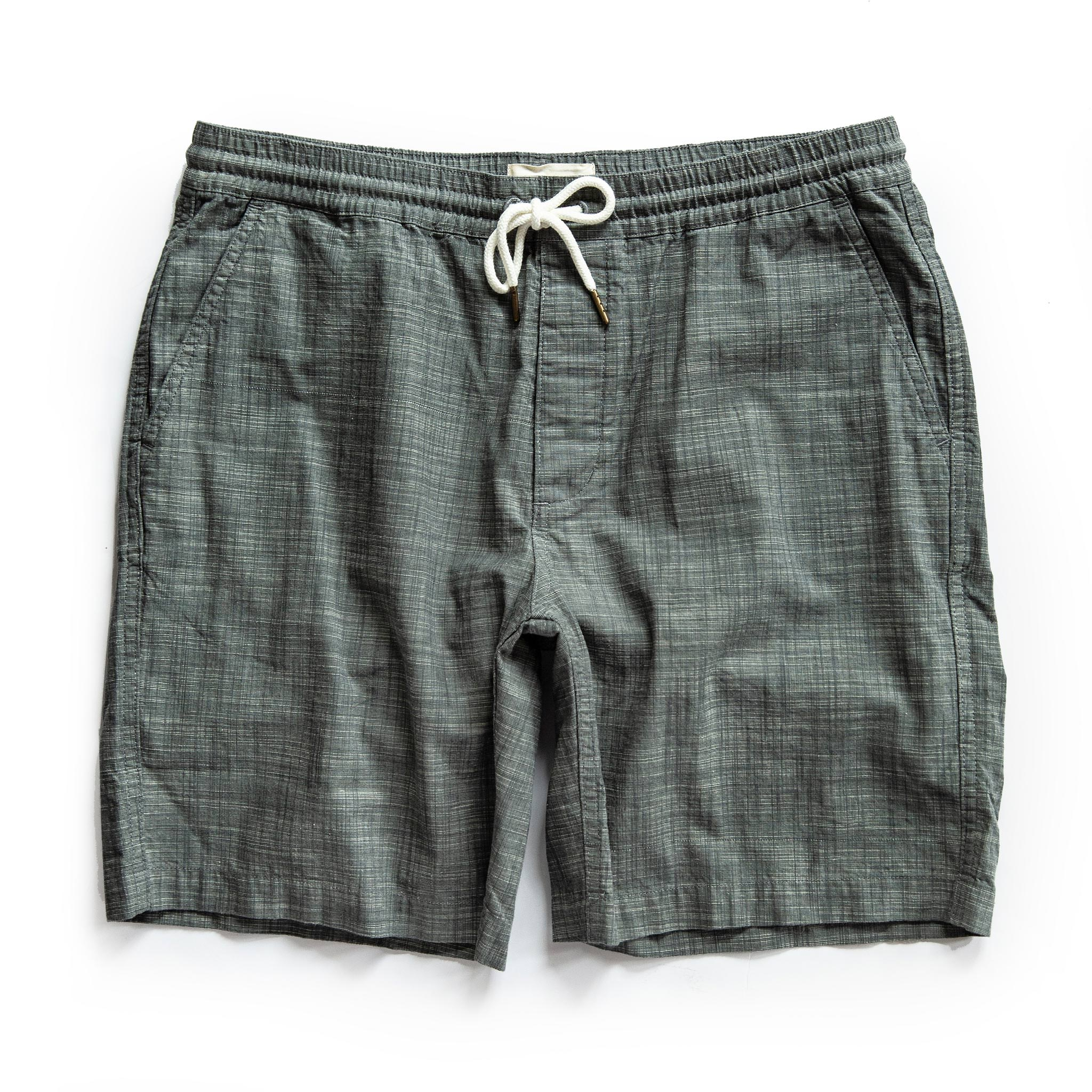 Taylor Stitch Apres Shorts in Olive Pin Dot