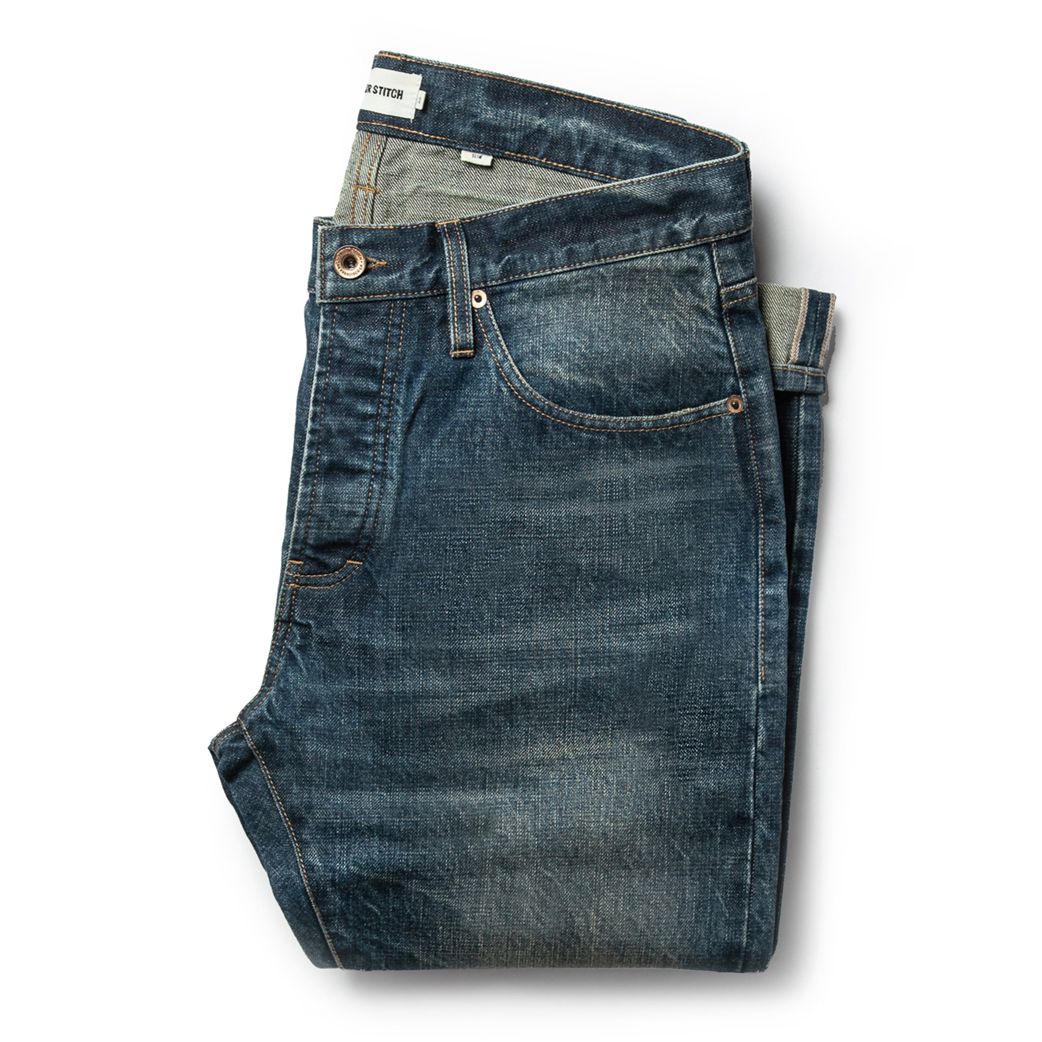 Taylor Stitch Slim Jeans in Organic Selvage
