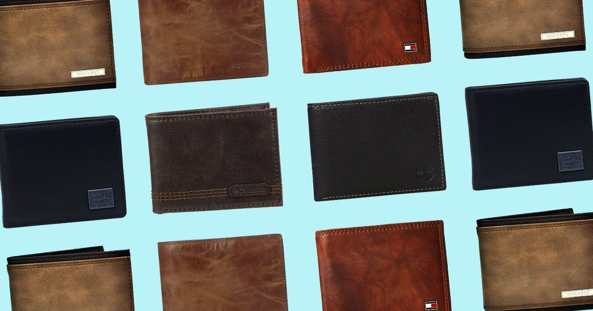 collage of RFID wallets