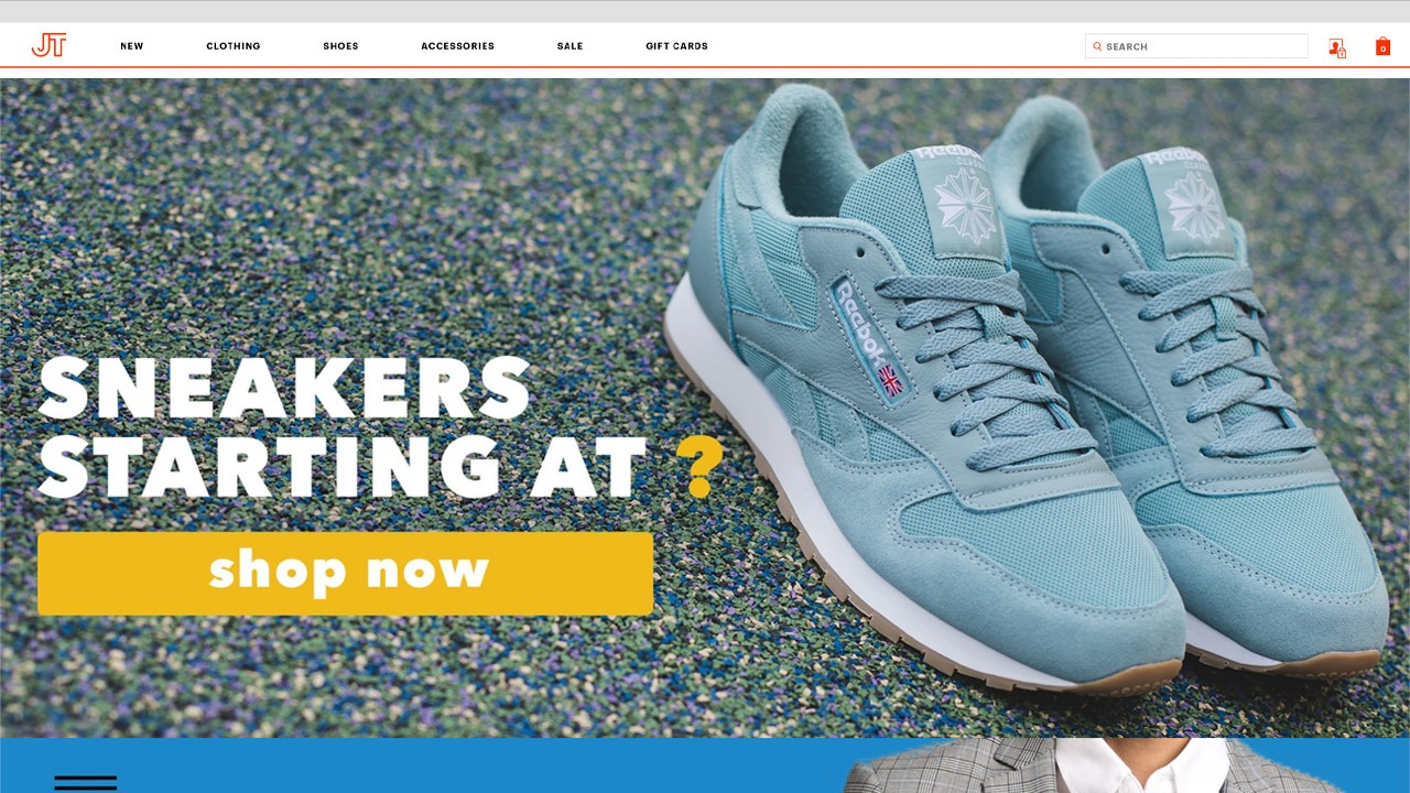 jackthreads home page
