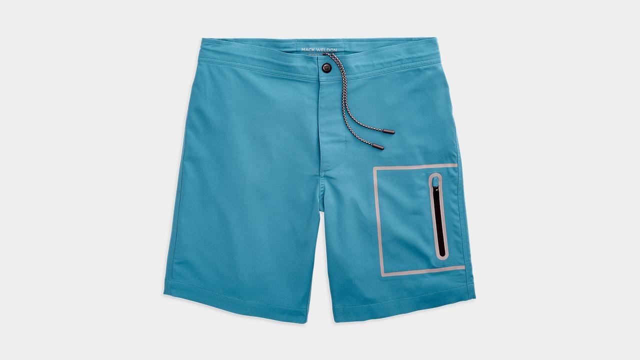 Mack Weldon Swim Board Shorts