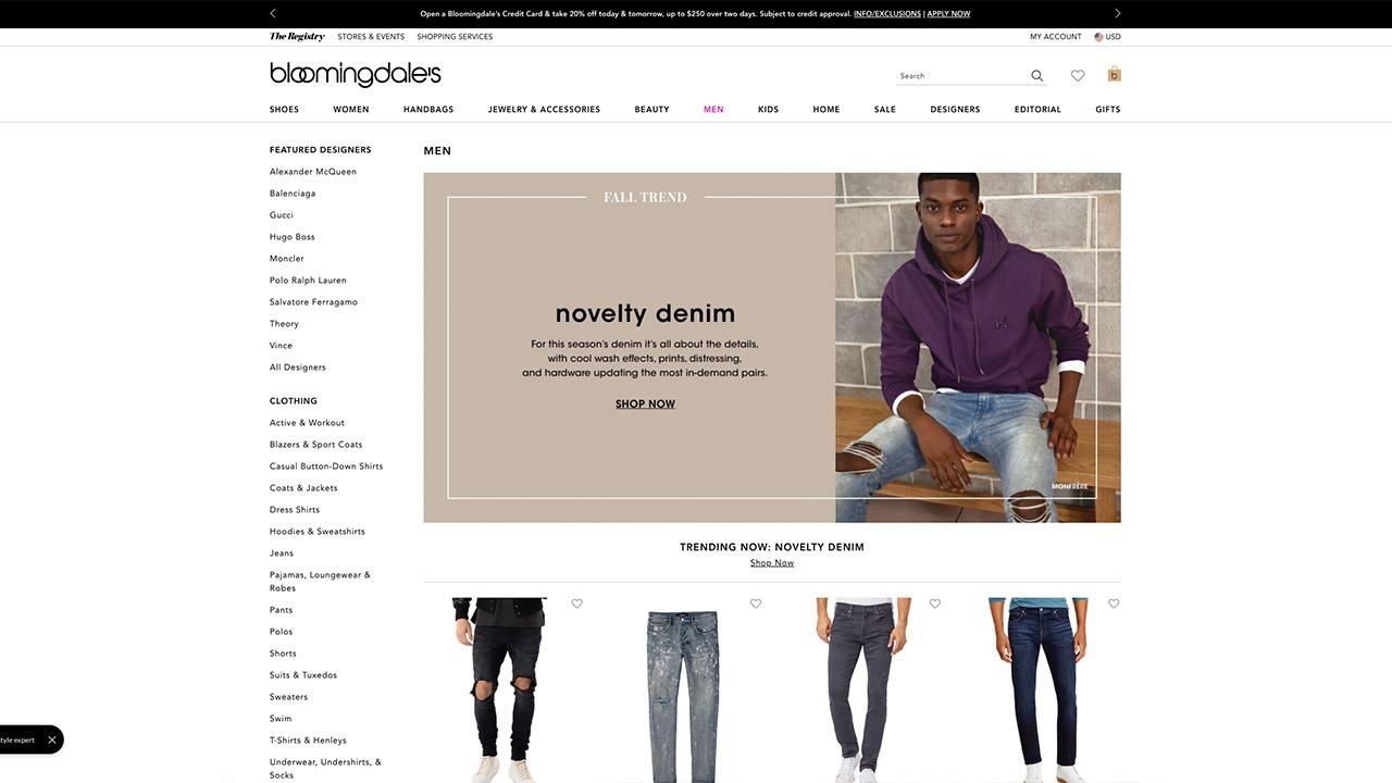 bloomingale's homepage