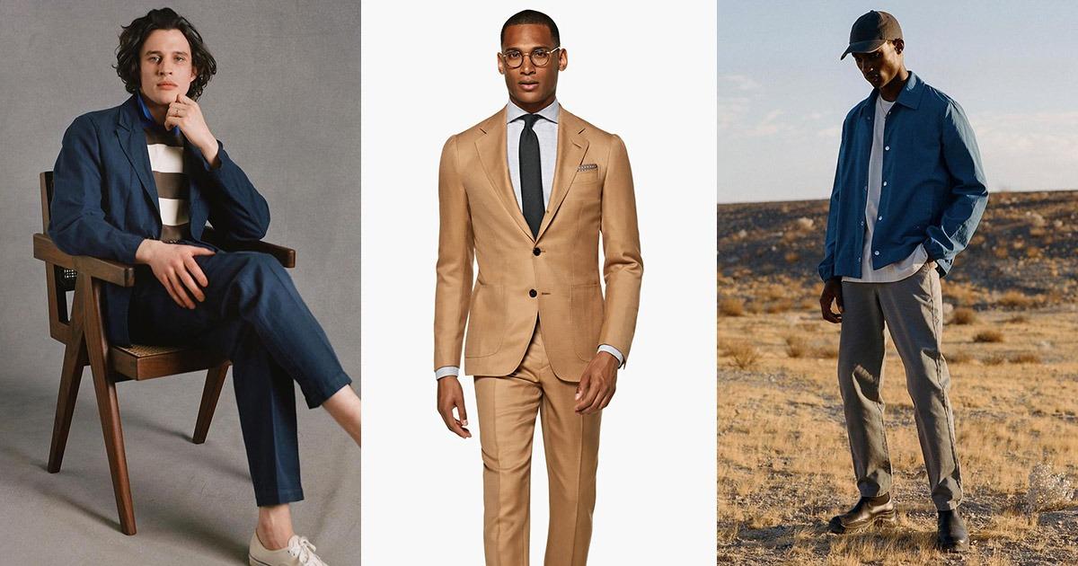 men's clothing lifestyle photos