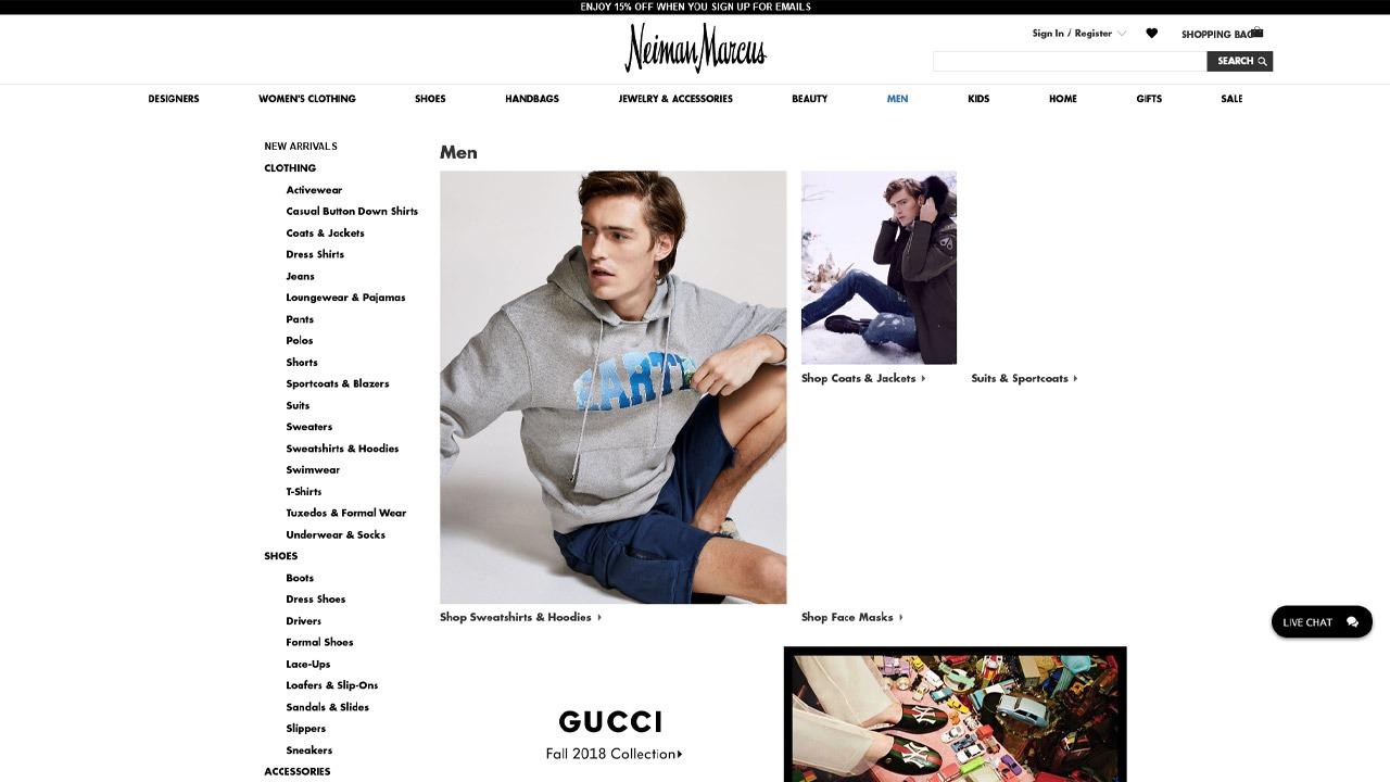 neiman marcus homepage