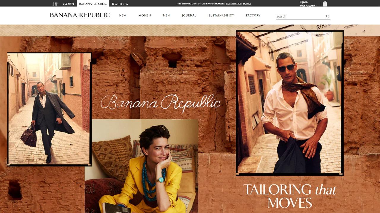 BANANA-REPUBLIC homepage