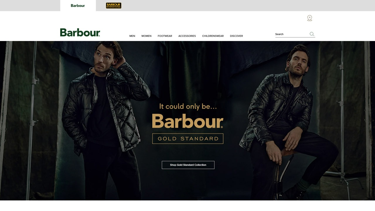 barbour homepage