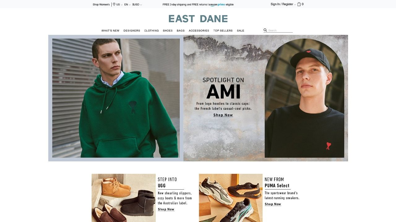 east dane homepage